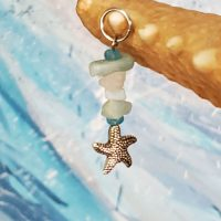 "Starfish Dreams Charm for the Mermaid ""Splash"" Necklace (Divas of the Deep) – (LIMITED QUANTITIES)"