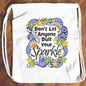 Sparkls - Drawstring Backpack - Tote bag