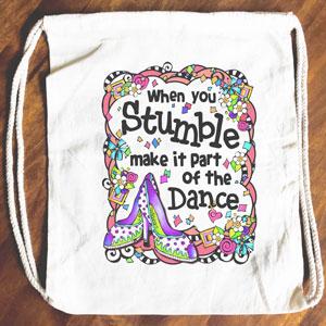 Stumble - Drawstring Backpack - Tote bag