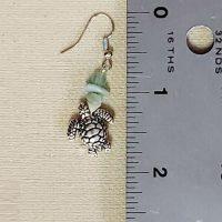 """Baby """"Honu"""" Sea Turtle (Divas of the Deep) – Mermaid Earrings  (LIMITED QUANTITIES)"""