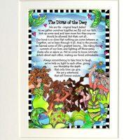"The Divas of the Deep (Divas of the Deep) – 8 x 10 Matted ""Gifty"" Art Print"
