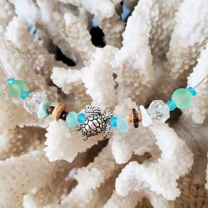 Honu Necklace - closeup