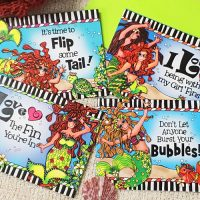 Assorted Mermaid Pack – (Dives of the Deep) Note Cards