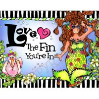 Love The Fin You're In – (Dives of the Deep) Note Cards