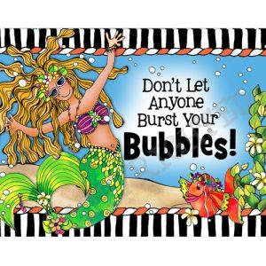 Bubbles Note Card