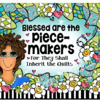 Blessed are the Piece-makers For They Shall Inherit the Quilts – Mouse Pad
