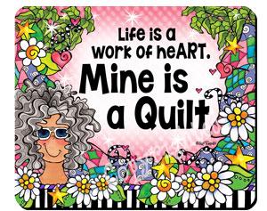 work of Heart QUILT - mousepad