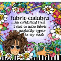 Fabric-cadabra …An enchanting spell I cast to make fabric magically appear in my stash – Mouse Pad