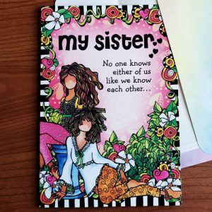Sister (mother's Day) - Greeting Card _ FRONT