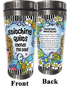 Mends my Soul QUILT - Stainless Steel Tumbler