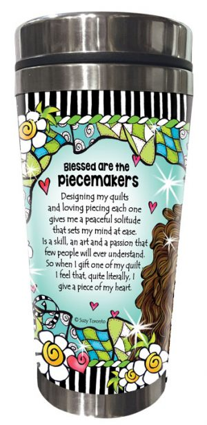Piece Makers QUILT - Stainless Steel Tumbler - BACK