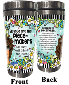 Piece Makers QUILT - Stainless Steel Tumbler