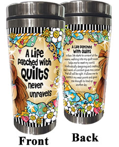never unravels QUILT - Stainless Steel Tumbler