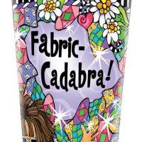 Fabric-cadabra! – Stainless Steel Tumbler