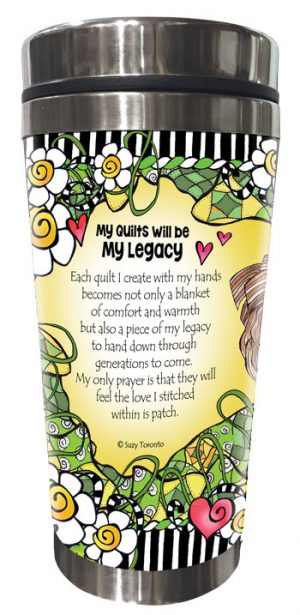 My Legacy QUILT - Stainless Steel Tumbler - BACK