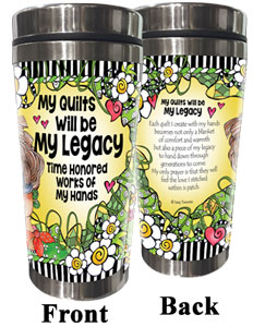 My Legacy QUILT - Stainless Steel Tumbler