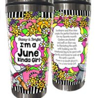 JUNE (Birthday of the Month) – 16 oz. Stainless Steel Tumbler