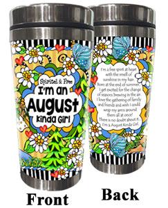 AUGUST - Stainless Steel Tumbler