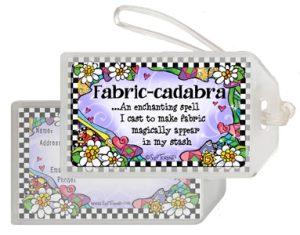 Fabric-cadabra QUILT - bag tag