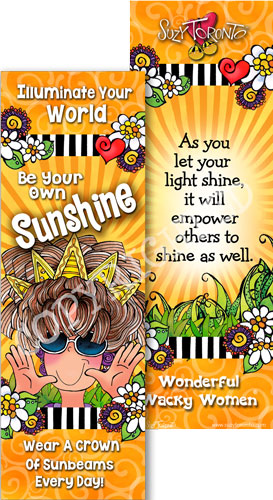 Sunshine Bookmark