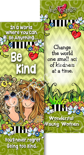 Be Kind Book mark