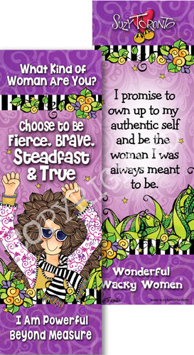 Fierce and Brave - Bookmark