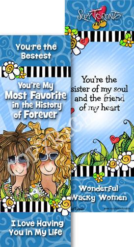 Most Favorite Friend - Bookmark