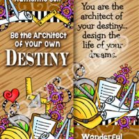 Embrace Your Authentic Self. Be the Architect of your own Destiny. You hold the pen for how your story ends – Bookmark