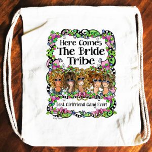 Bride Tribe - Backpack -5 girls