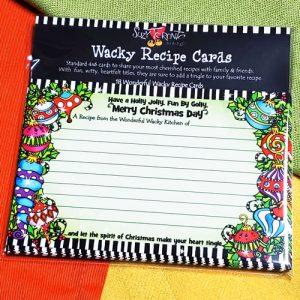 Holly Jolly - recipe cards