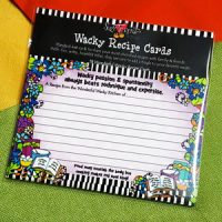 Wacky passion & spontaneity always beats technique and expertise. – Recipe Cards (pack of 18)