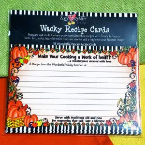 work of heart cooking - recipe cards