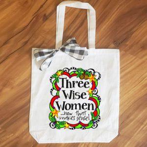 three wise women - tote bag