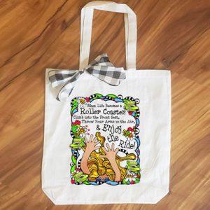 enjoy the ride - tote bag