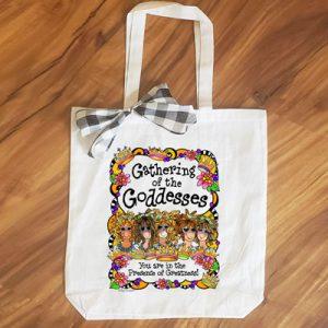 Goddesses (5 girls) - tote bag