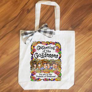 Goddesses (6 girls) - tote bag