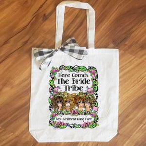Bride Tribe (4 girls) - tote Bag