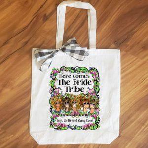 Bride Tribe (5 girls) - tote Bag
