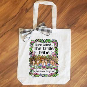 Bride Tribe (6 girls) - tote Bag