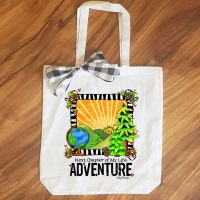 Next Chapter of My Life: ADVENTURE – 15″ x 11″ Tote Bag