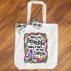 Stumble - tote bag
