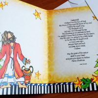 I believe the angels sang, the shepherds came and the wise men followed the star – (NEW for 2021) Christmas Greeting Card