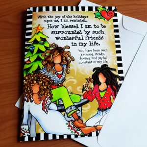 Girlfriends 2021 - Greeting card - front