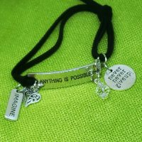 IMAGINE -Anything is Possible – WORDS Bracelet w adjustable band